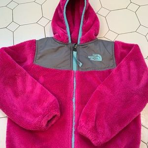 EUC The North Face Toddler Girls Hoodie 4T